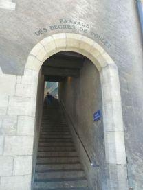 Genf P1700125 Passage des Degres de Poules
