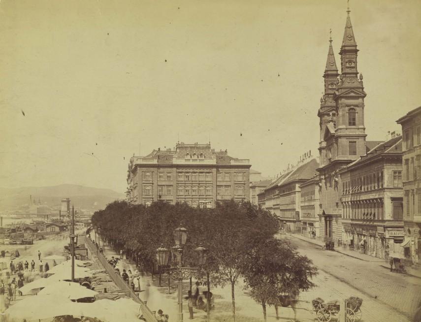 Petőfi tér 1874-1882 Fortepan_82268
