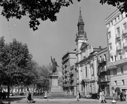 Petőfi tér 1960 Fortepan_1789eb