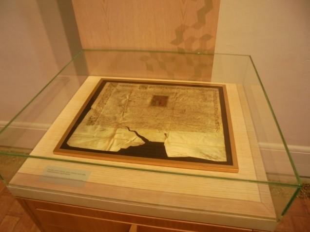 08 nagyszalonta-csonka-torony-arany-janos-emlekmuzeum-bocskai-istvan-kassan-1606-marcius-14-hajdukivaltsagot-rogzito-levele-4