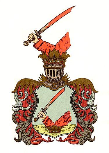 Arany_család címere_1634-ből